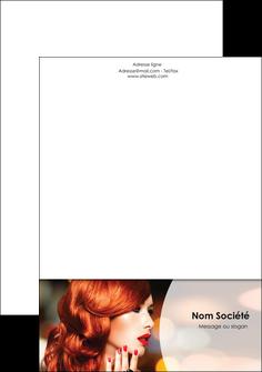creation graphique en ligne tete de lettre centre esthetique  coiffure coiffeur coiffeuse MIF28041