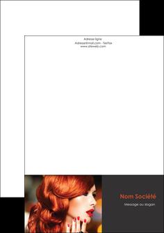 realiser tete de lettre centre esthetique  coiffure coiffeur coiffeuse MLIG28043