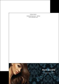 realiser tete de lettre centre esthetique  coiffure salon de coiffure beaute MLGI28051