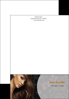 modele en ligne tete de lettre centre esthetique  coiffure coiffeur coiffeuse MLGI28053