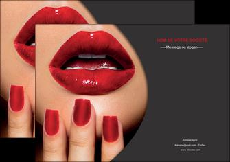 realiser affiche centre esthetique  beaute institut de beaute institut de beaute professionnel MIF28079
