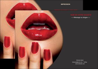 creation graphique en ligne flyers centre esthetique  beaute institut de beaute institut de beaute professionnel MLGI28087