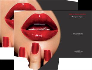 creer modele en ligne pochette a rabat centre esthetique  beaute institut de beaute institut de beaute professionnel MIF28095