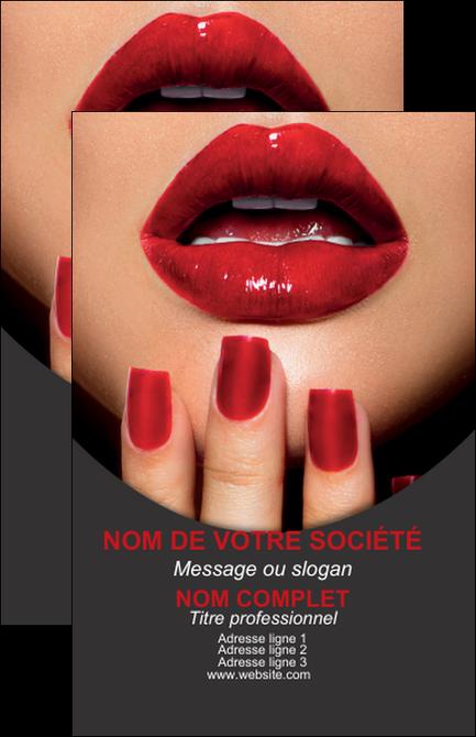 modele en ligne carte de visite centre esthetique  beaute institut de beaute institut de beaute professionnel MLGI28097