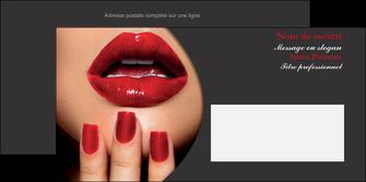 creation graphique en ligne enveloppe centre esthetique  beaute institut de beaute institut de beaute professionnel MIF28101