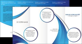 cree depliant 4 volets  8 pages  conceptuel couverture creatif MIF28105