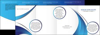 imprimerie depliant 4 volets  8 pages  conceptuel couverture creatif MIF28107