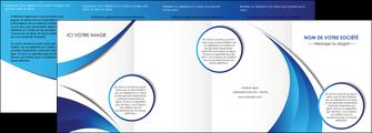 impression depliant 4 volets  8 pages  conceptuel couverture creatif MIF28109