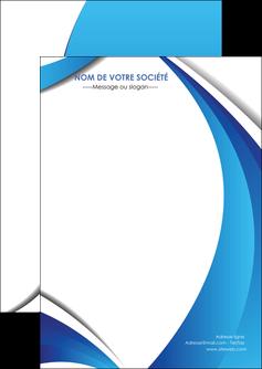 maquette en ligne a personnaliser flyers conceptuel couverture creatif MIF28123