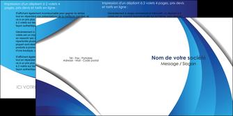 personnaliser modele de depliant 2 volets  4 pages  conceptuel couverture creatif MIF28127