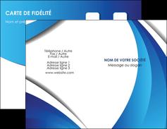 personnaliser modele de carte de visite conceptuel couverture creatif MIF28129