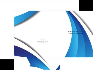 faire modele a imprimer pochette a rabat conceptuel couverture creatif MIF28139