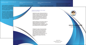 imprimer depliant 4 volets  8 pages  chirurgien medecin medecine cabinet medical MIS28149