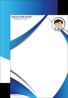 personnaliser maquette affiche chirurgien medecin medecine cabinet medical MIF28151