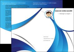 modele en ligne depliant 2 volets  4 pages  chirurgien medecin medecine cabinet medical MIF28161