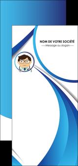 modele en ligne flyers chirurgien medecin medecine cabinet medical MIF28163