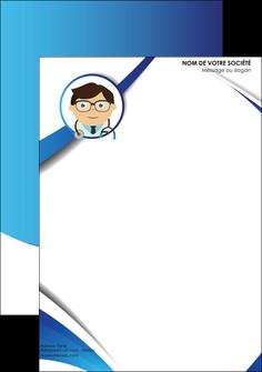 creer modele en ligne tete de lettre chirurgien medecin medecine cabinet medical MIF28171
