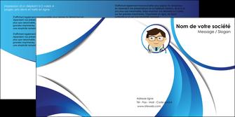 imprimer depliant 2 volets  4 pages  chirurgien medecin medecine cabinet medical MIF28173
