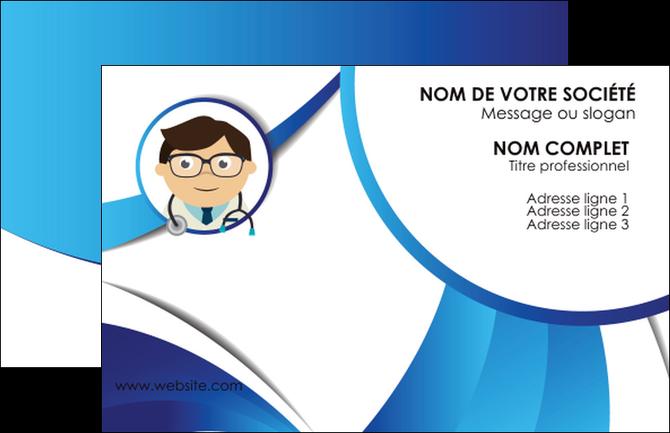imprimer carte de visite chirurgien medecin medecine cabinet medical MIF28177