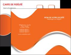 Impression prix carte de visite 350g quadri recto verso pelliculage brillant recto  Carte commerciale de fidélité devis d'imprimeur publicitaire professionnel Carte de visite Double - Portrait