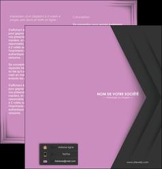 modele depliant 2 volets  4 pages  texture contexture structure MLIG28241