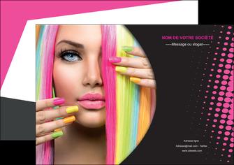 personnaliser modele de affiche centre esthetique  coiffure coiffeur coiffeuse MLGI28295