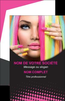 faire carte de visite centre esthetique  coiffure coiffeur coiffeuse MLGI28313