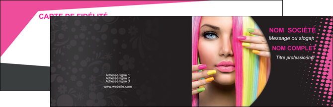 faire carte de visite centre esthetique  coiffure coiffeur coiffeuse MLGI28315