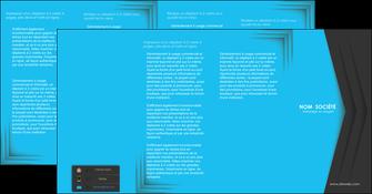 imprimerie depliant 4 volets  8 pages  texture structure abstrait MLGI28391