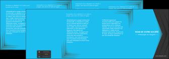 creation graphique en ligne depliant 4 volets  8 pages  texture structure abstrait MLIG28395