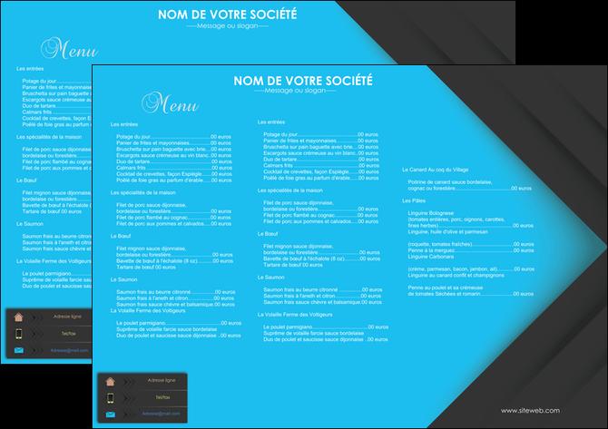 realiser set de table restaurant set de table menu set de table menu MLGI28399