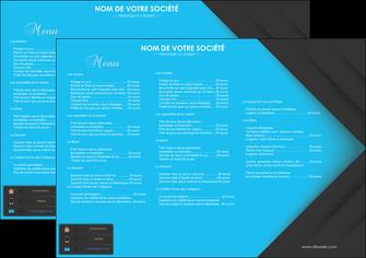 realiser set de table restaurant set de table menu set de table menu MLIG28399