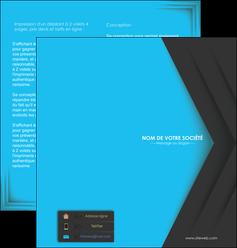 modele en ligne depliant 2 volets  4 pages  texture structure abstrait MLGI28401