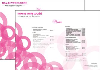 exemple set de table restaurant set de table menu set de table menu MIF28433