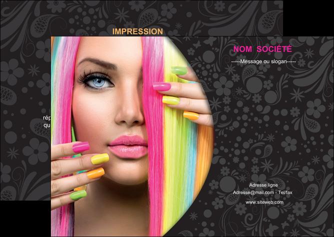 creation graphique en ligne flyers cosmetique coiffure coiffeur coiffeuse MLGI28463