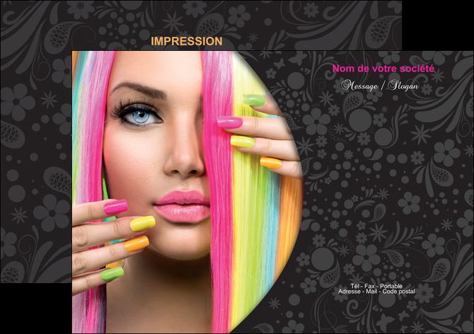 modele flyers cosmetique coiffure coiffeur coiffeuse MLGI28465
