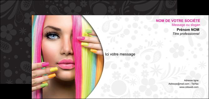 realiser carte de correspondance cosmetique coiffure coiffeur coiffeuse MLGI28469