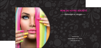 imprimerie flyers cosmetique coiffure coiffeur coiffeuse MIF28471