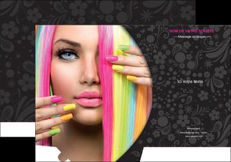 realiser pochette a rabat cosmetique coiffure coiffeur coiffeuse MIF28477