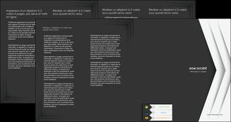 imprimerie depliant 4 volets  8 pages  texture structure contexture MLGI28567