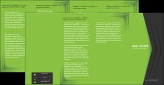 faire modele a imprimer depliant 4 volets  8 pages  texture contexture structure MIF28621