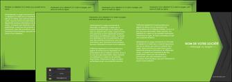 creer modele en ligne depliant 4 volets  8 pages  texture contexture structure MIF28627