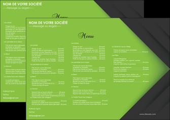 personnaliser modele de set de table restaurant set de table menu set de table menu MIF28629