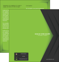creer modele en ligne depliant 2 volets  4 pages  texture contexture structure MLIG28631