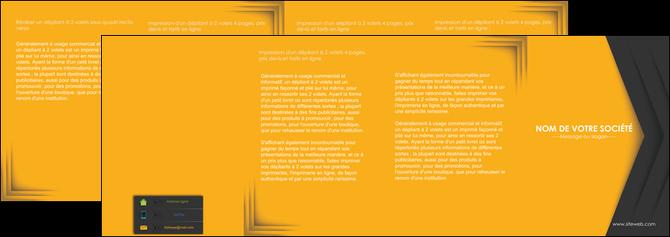 personnaliser maquette depliant 4 volets  8 pages  texture structure design MLGI28669