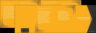 personnaliser maquette depliant 4 volets  8 pages  texture structure design MIF28671