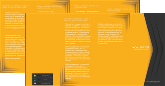 imprimer depliant 4 volets  8 pages  texture structure design MIF28675