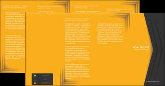 imprimer depliant 4 volets  8 pages  texture structure design MLIG28675