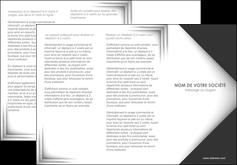 exemple depliant 3 volets  6 pages  texture contexture structure MLIG28737