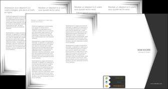 faire depliant 4 volets  8 pages  texture contexture structure MIF28751